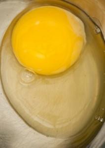 Lecithin raw egg