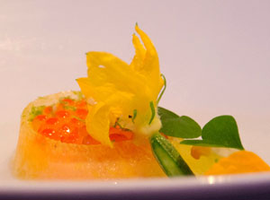 Steelhead Roe Alinea