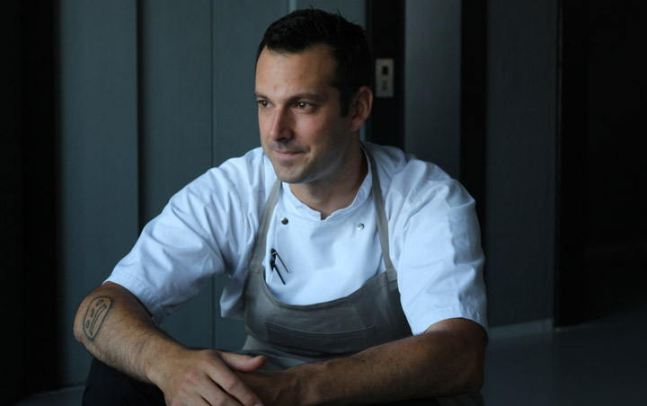 Chef Matt Orlando at Amass