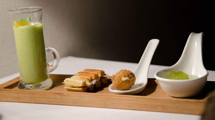 Amuse bouche tray