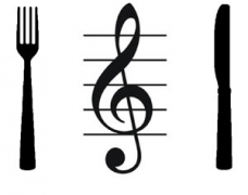 Treble Clef on Plate 300