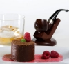 Chocolate Mousse Infused with Pipe Tobacco