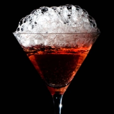 5- Cranberry Bubbles Cosmo