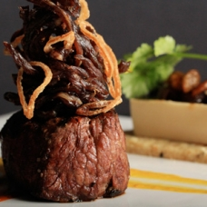 Peruvian Inspired Filet Mignon with a Japanese Twist