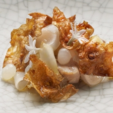 Smoked and Confit Pig Cheek by Quay\'s Chef Peter Gilmore