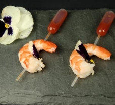5-Shrimp with Cocktail Sauce in Pipette