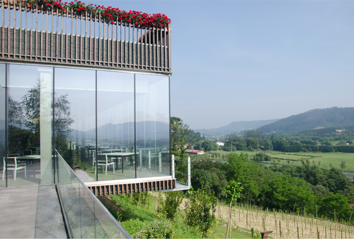 Eneko Atxa Sustainable Cuisine Lab Greenhouse Winery