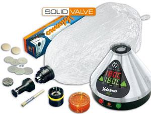 Volcano vaporizer system