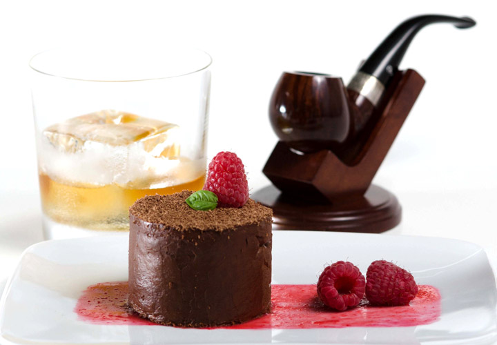 Chocolate Mousse Infused with Pipe Tobacco 720