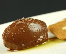 Chocolate Cremeux and Olive Oil