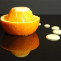 Olive Oil Pudding and Oranges