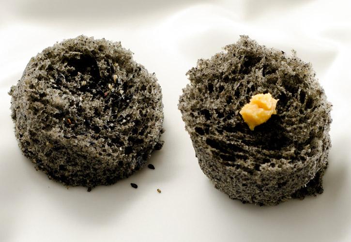 Sesame Microwave Sponge Cake-4