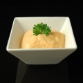Bell pepper foam dip