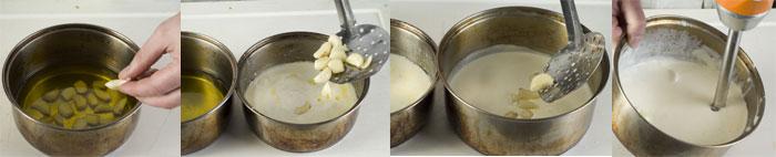 Triple Cooked Garlic Cream