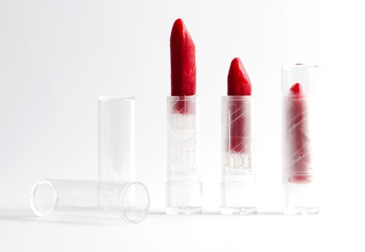 Edible lipstick raspberry