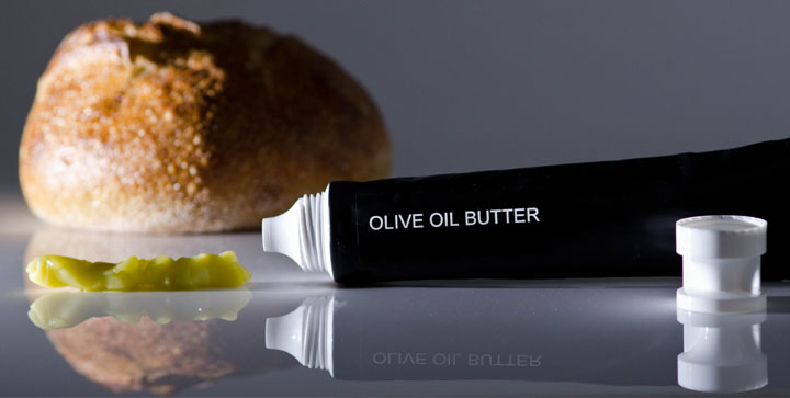 Glycerin Flakes as thickener in Olive Oil Butter in Squeeze Tube