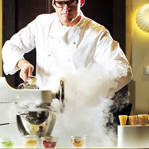 how to make liquid nitrogen with dry ice