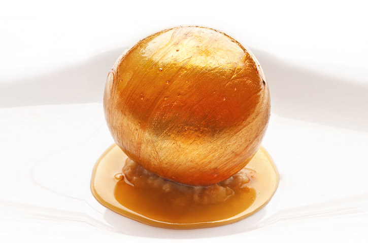 Blown Sugar Isomalt caramel flan