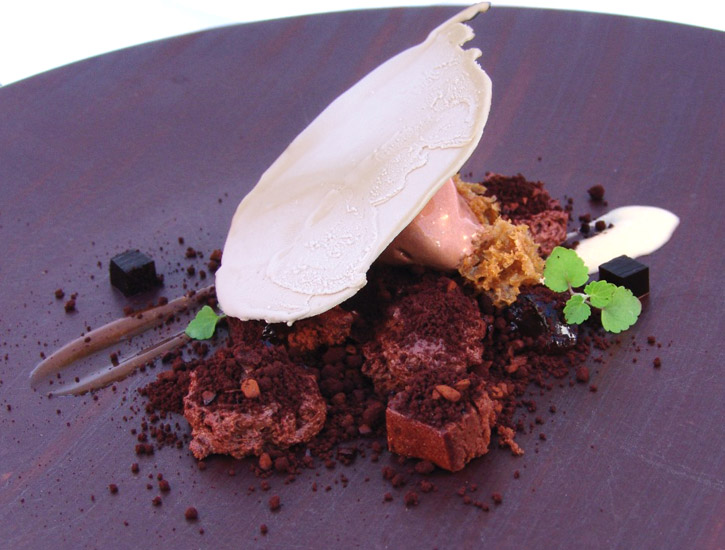 Belgium Ale - Chocolate, Coffee, Black Olives by Chef Jordi Cruz at Abac