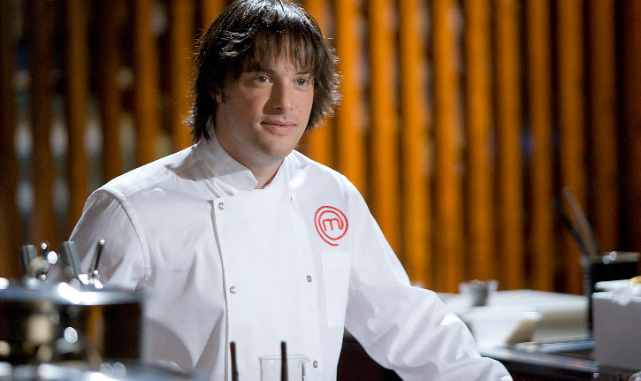 Chef Jordi Cruz at Masterchef Spain
