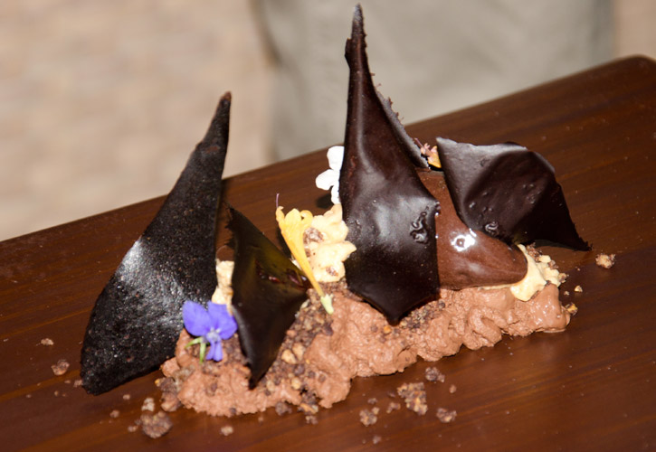 Chocolate and Cocoa with Hazelnuts, Coffee and Vanilla by Chef Jordi Cruz at ABaC