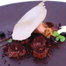 Belgium Ale - Chocolate, Coffee, Black Olives by Chef Jordi Cruz at Abac - sqr