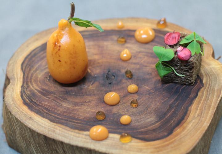 Locust Bean Gum used in Foie gras medlar modernist cuisine metamorfosi