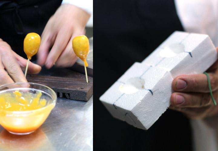 Foie gras medlar - molds