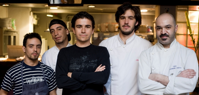 La Vineria team and me