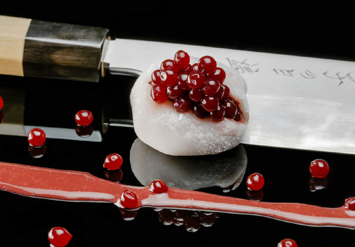 Mochi Strawberry Caviar