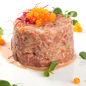 Steak Tartar Chili Caviar