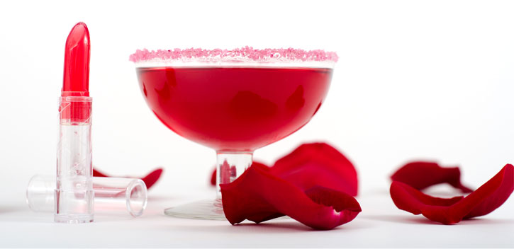 Edible Lipstick Cocktail -pairing