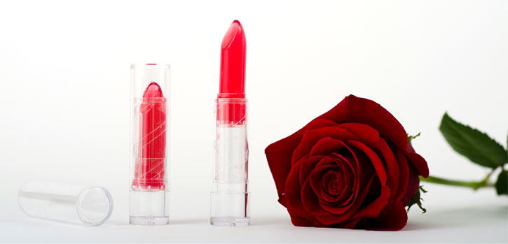 Edible Lipstick Cocktail -rose