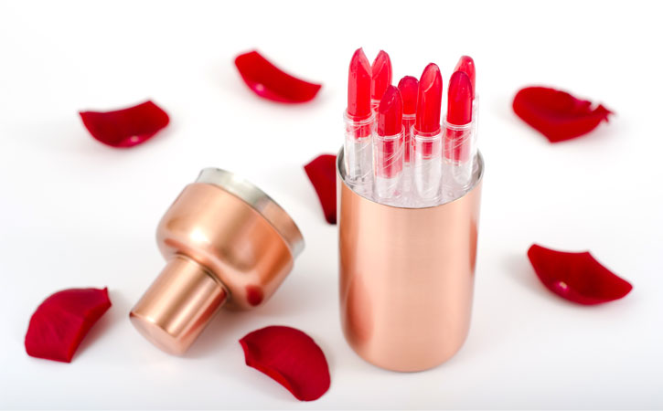 Edible Lipstick Cocktail -top-view