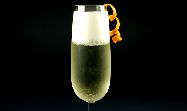 Gelatin Foam - Elderflower Foam