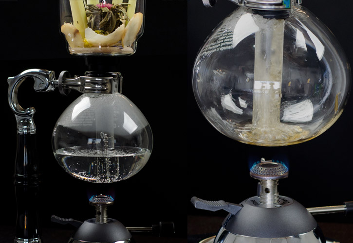 Hot Infusion Siphon makes hot cocktails at the table-2