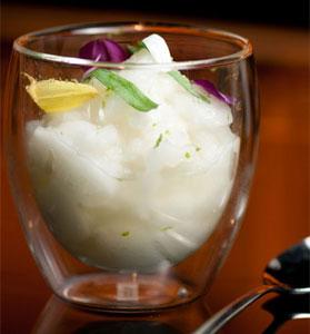 Molecular Gastronomy Cocktail: Nitro Caipirinha