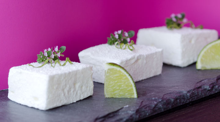 Pisco Sour Cocktail Marshmallow