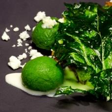 Broccoli Rabe Dumplings by Cristina Bowerman -sqr