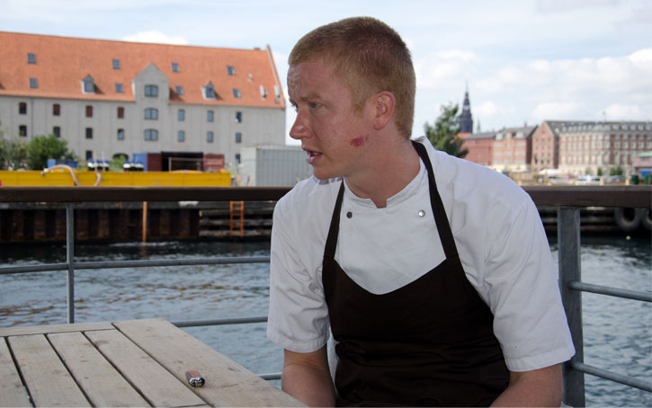 Ben Reade at Nordic Food Lab