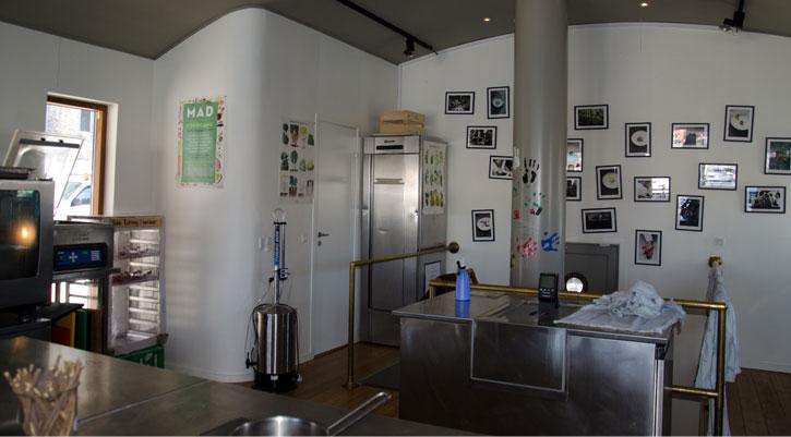 Nordic Food Lab interior