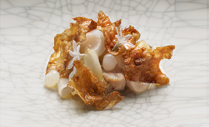 Smoked and Confit Pig Cheek by Quay's Chef Peter Gilmore
