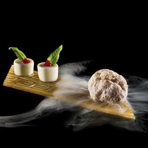 Molecular Gastronomy Restaurant Apriori by Chef Kristof Coppens