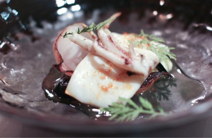Royal Mail calamari by Chef Dan Hunter