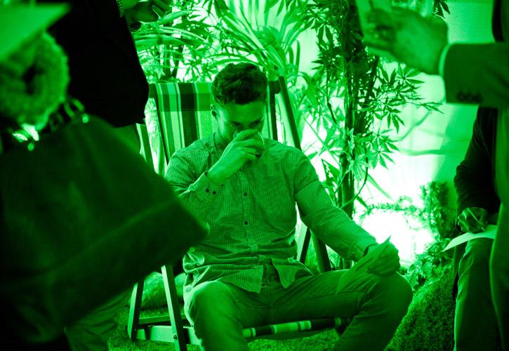 Sensory Tasting green-room-3
