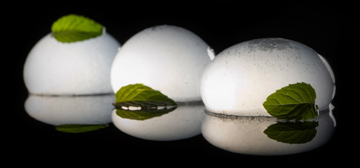 iSi Whip to Carbonate Mojito Spheres