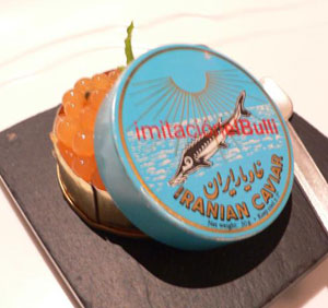 Imitation Caviar Tin