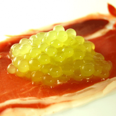 Melon cantaloupe caviar -sqr
