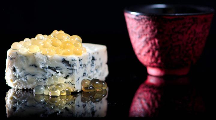 Honey Caviar, Fourme D'Ambert, Black Tea