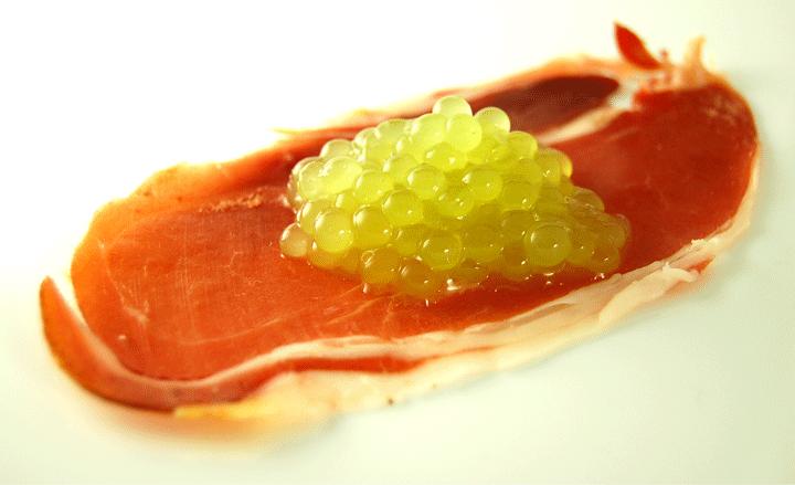 Melon cantaloupe caviar -720